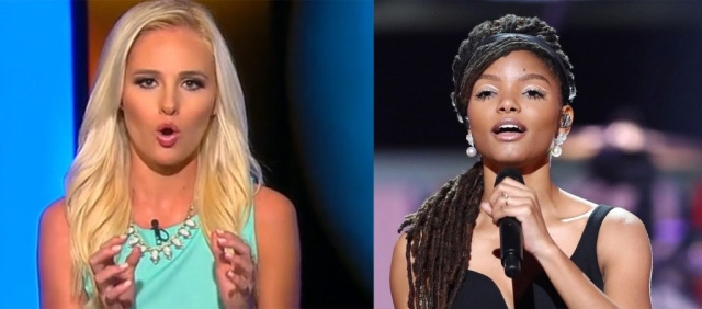 "Tomi Lahren: ""Everyone Knows Mermaids Are White, Just Like Santa and Jesus!"""